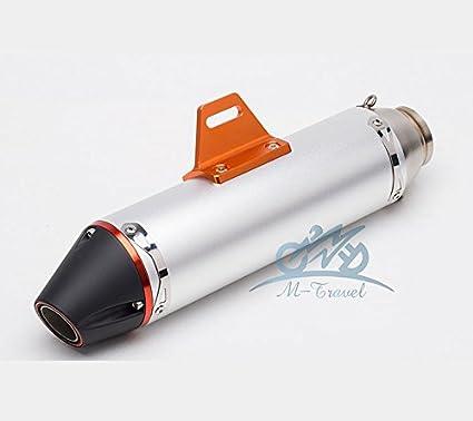 Amazon com: 36-51mm universal Modified Motorcycle Exhaust