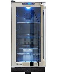 Vinotemp VNTVT-BC32TSSM-L VT-32 Mirrored Beverage Cooler