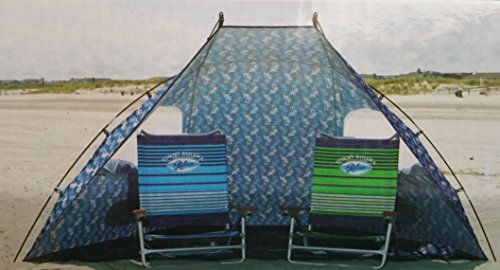 tommy-bahama-9ft-wide-portable-sun-shelter-tent-beach-umbrella-with-zippered-windows-carrying-case