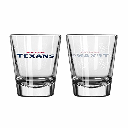 Houston Texans Shot Glass - 2 Pack Satin - In Outlet Houston