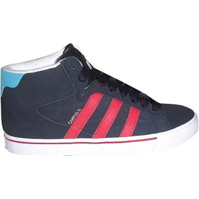 Adidas Campus Vulc Mid Mens Skate Shoes in Black1/Vivid Red sz:9