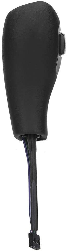 Yctze Schalthebel Kohlefaser-Textur elektrisch Linkslenker Automatik-LED-Schaltknauf Nachr/üstsatz Passend f/ür E46 E60 E61 Refit f/ür Linkslenker F30 Style