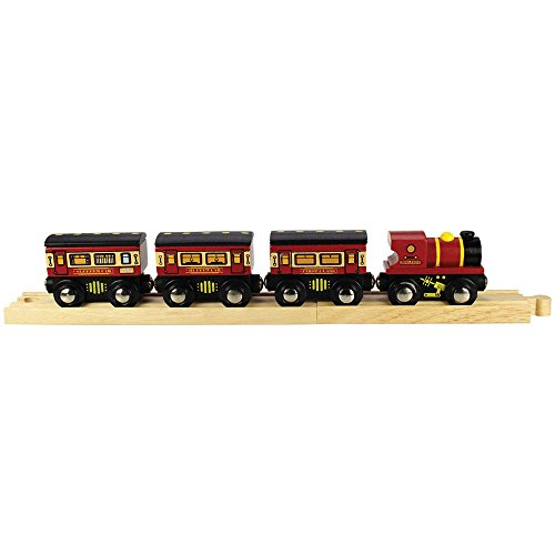 Bigjigs Rail The Sleeper Train - Other Major Wooden Rail Brands are Compatible (Railway Sleeper)