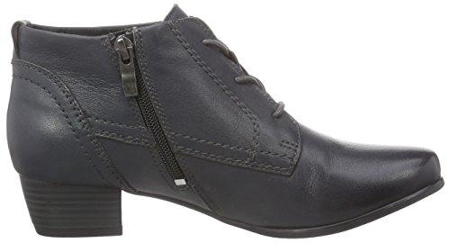 Caprice 25100 - botas de cuero mujer gris - Grau (GREY 200)