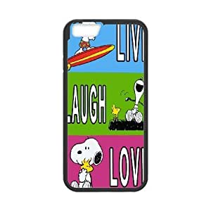 Custom High Quality WUCHAOGUI Phone case Cute & Lovely Snoopy Protective Case For Apple Iphone 6,4.7