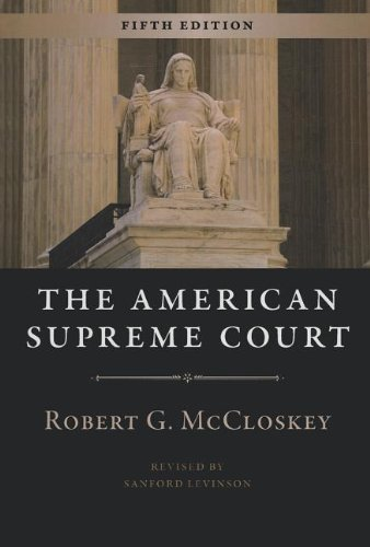 The American Supreme Court: Fifth Edition (The Chicago History of American Civilization)