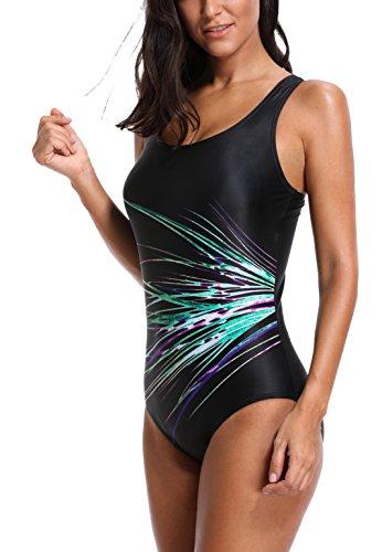 Da Charmleaks Bagno Purple Intero Blue Per Fluo Costume Sportivo Donna Nuoto Costumi ppTa5Snxq