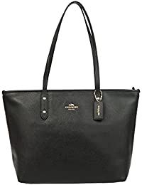 City Crossgrain Leather Tote