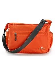 Bagtopia Men & Women's Ultra Light Nylon Cross Body Shoulder Bag Water Resistant Foldable Messenger Bag