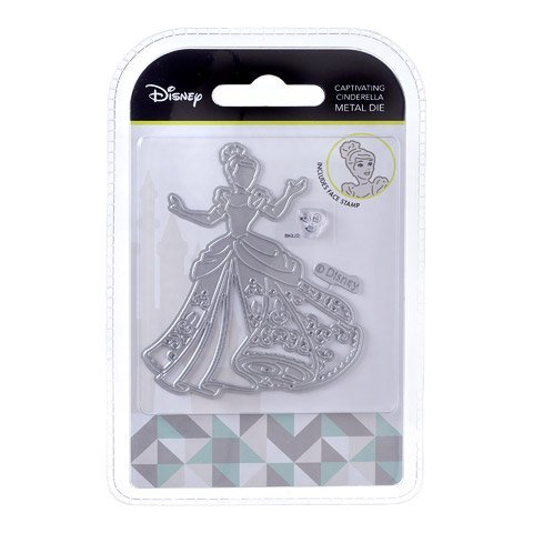 Disney Face - Character World Captivating Cinderella Disney Die and Face Stamp Set