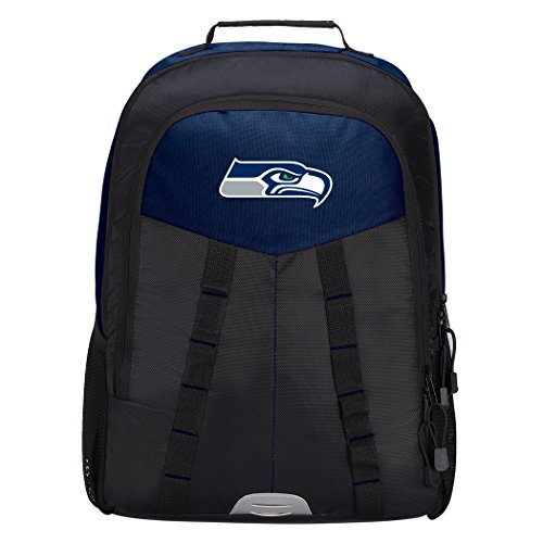 The Northwest Company Officially Licensed NFL Seattle Seahawks Scorcher Sports Backpack, Blue
