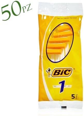 BIC – Juego de 10 sobres x 5 afeitadora corporal N ° 1 – 1 ...
