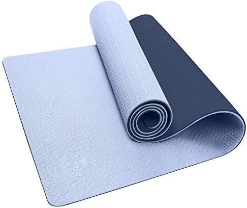 "IUGA Yoga Mat Non Slip Textured Surface Eco Friendly Yoga Matt with Carrying Strap, Thick Exercise & Workout Mat for Yoga, Pilates and Fitness (72""x 24""x 6mm)"