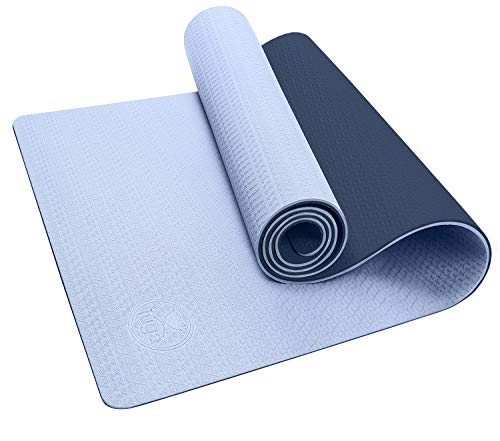 IUGA Yoga Mat Non Slip Textured Surface Eco Friendly Yoga Matt with Carrying Strap, Thick Exercise & Workout Mat for…