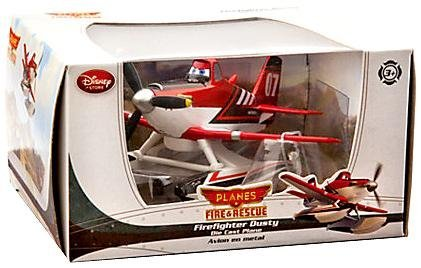 (Disney PLANES: Fire & Rescue Exclusive 1:43 Die Cast Firefighter Dusty)