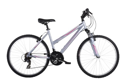 BarracudaMystique Womens' Mountain Bike Silver, 18' inch alloy frame, 21...