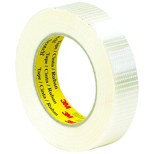 Ship Now Supply SNT9158959 3M 8959 Bi-Directional Strapping Tape, 5.7 Mil, 1'' x 55 yd., Clear (Pack of 36) by Ship Now Supply