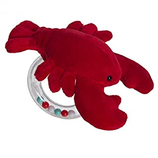 Mary Meyer Lobbie Lobster Ring Rattle