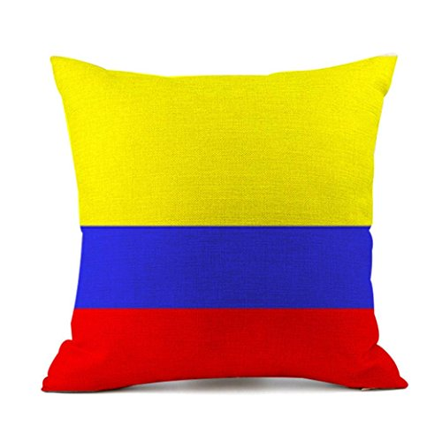Price comparison product image Makeupstore 2018 Pillow Case, Digital Printing World Cup 32 National Cup Flag Pillow Case Home Decor Standard Size Multiple styles