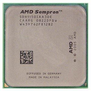 - AMD Sempron LE-1150 2.0GHz 256KB Socket AM2 CPU