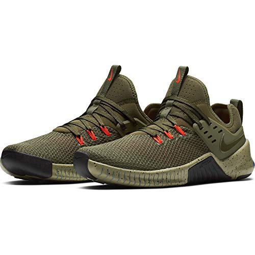 Olive Canvas Footwear - NIKE Men's Metcon Free Training Shoe Olive Canvas/Olive Canvas-Neutral Olive 11.0