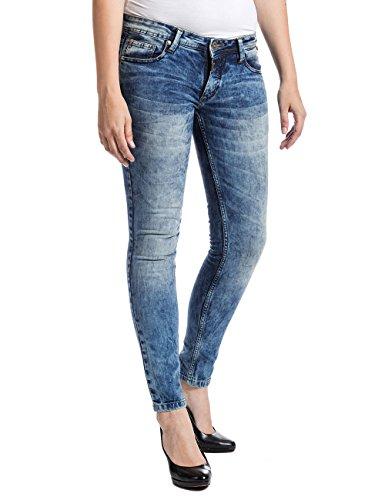 Slim 3821 Femme Wash Loom Wash Jeans Timezone Loom Bleu Aleenatz Blau 3821 YXwq5MAxHU