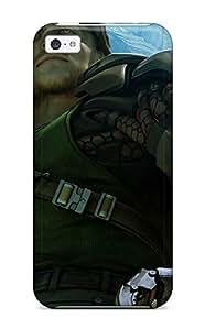Anti-scratch And Shatterproof A Warrior In Jungle Phone Case For Iphone 5c/ High Quality Tpu Case