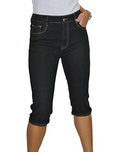 Nero Donna Tratto 1 Con Rettilineo Ice tasca Jeans Gambe xHOqwOYZC