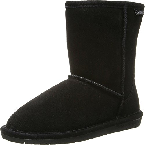 [Bearpaw Girls EMMA Slip on Boot (Little Kid/Big Kid), Black, 5 M US Little Kid] (Next Kids Boots)