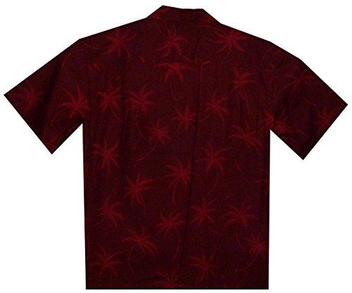8xl Chemise Hawaïenne Originale Hawaienne S Rouge Authentique nwxP0XfPq6