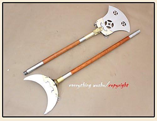 تجهیزات آموزشی تجهیزات ورزشی رزمی Wushu Shaolin Monk Spade Spade Long Weapon