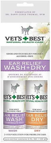 Vets Best Relief Wash Pack product image