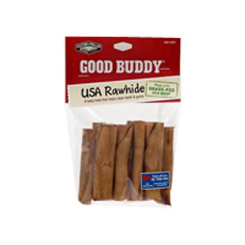 Castor & Pollux Good Buddy Rawhide Mini Rolls, Mini Rolls 2 Inches, 10 Ct (Pack of 6)