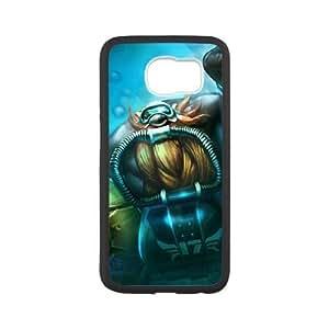 samsung_galaxy_s6 phone case White League of Legends Gragas LKJ2958217