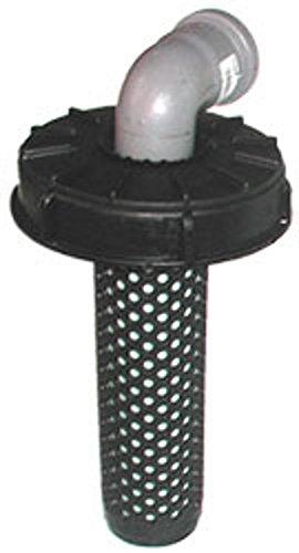 T/ÄSLER-Produktion Deckelfilter NW150 auf HT-Bogen DN70 90/° Deckel in Verschiedenen Farben