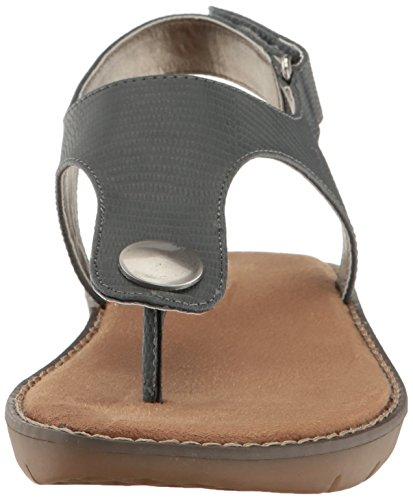 Aerosoles Womens Be Cool Flat Sandal Blue Snake IAInwhz4M