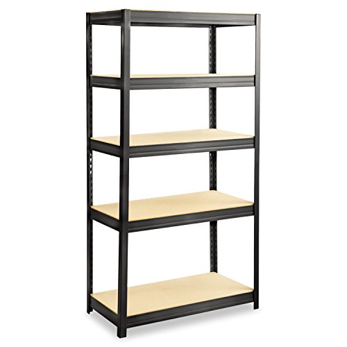 """Review Safco Products 6245BL Boltless Steel and Particleboard Shelving 36""""W x By Safco Products by Safco Products"""
