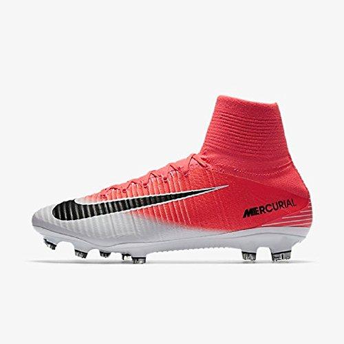 Nike Mercurial Superfly V Fg, Scarpe da Calcio Uomo Pink (Racer Pink/White/Black)