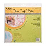 Grafix Clear Craft Plastic .007 Thickness 6-Inch by