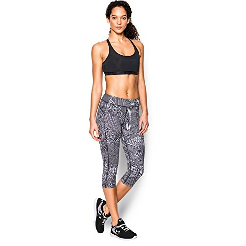 "Under Armour Women's HeatGear Armour Printed 18"" Capri"
