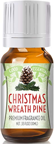- Christmas Wreath Scented Oil by Good Essential (Premium Grade Fragrance Oil) - Perfect for Aromatherapy, Soaps, Candles, Slime, Lotions, and More!