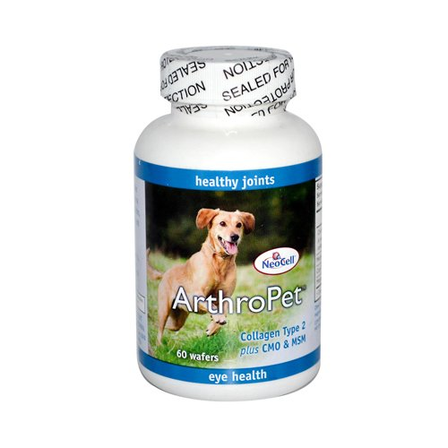 Wholesale NeoCell ArthroPet Collagen Type 2 plus CMO and MSM - 60 Wafers, [Pet Care, Pet Supplements]