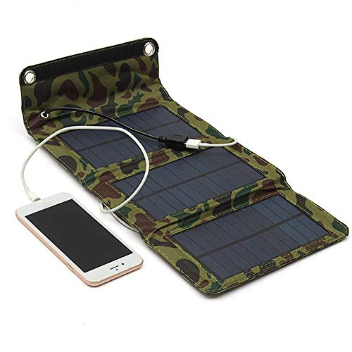 Solar Charger Mobile Phone Folding (Green Camouflage) ()