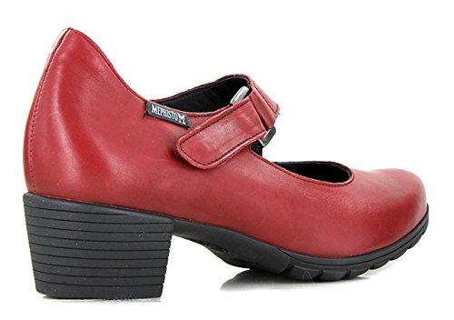 Piel Granate Mephisto Vestir Zapatos Mujer Otra De zwaFwqZ