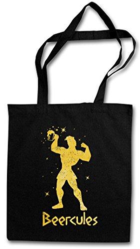 Beercules Hipster Bag Beutel Stofftasche Einkaufstasche