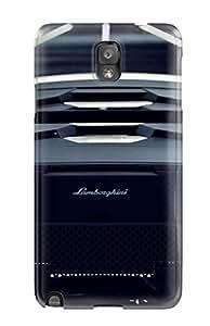 Protective Tpu Case With Fashion Design For Galaxy Note 3 (lamborghini)