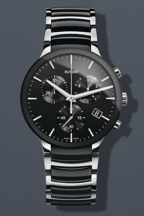 Rado-Centrix-Chronograph-Black-Ceramic-and-Steel-Mens-Watch-R30130152