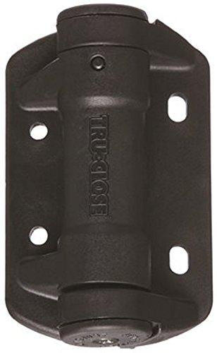 D&D Technologies TCA1S3BT V6212 Stanley Self Closing Spring Gate Hinge, Black (Pack of - Hinge Tru Gate Close