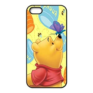Iphone 5 5S Winnie the Pooh Design TPU Case Cover,Iphone 5 5S Shell Protector