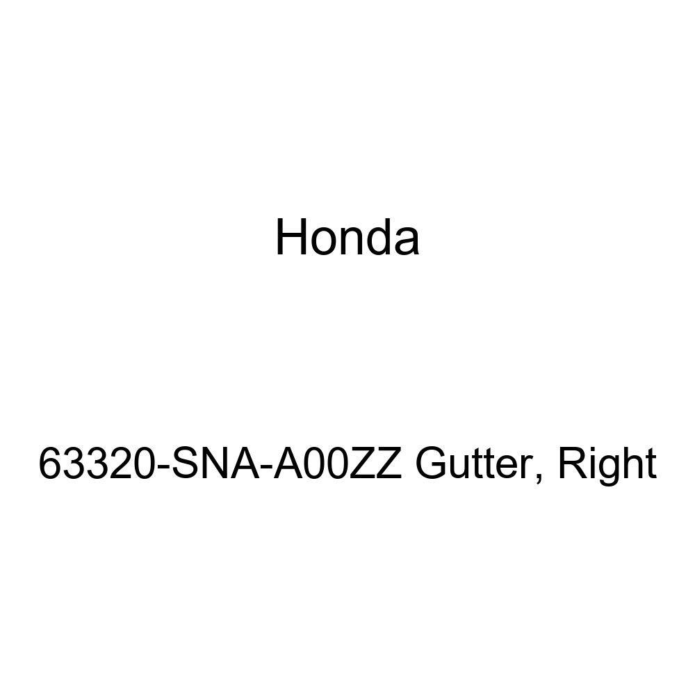 Right Genuine Honda 63320-SNA-A00ZZ Gutter
